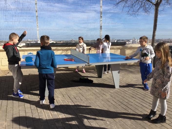 ping pong escola